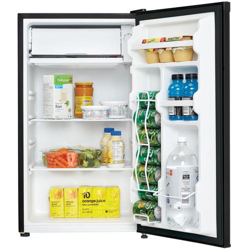 refrigerador compacto danby  3.2 pies cúbicos negro