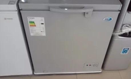 refrigerador congelador dual khaled 100 litros nuevo gris