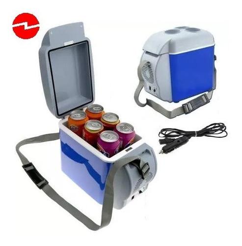 refrigerador cooler nevera 7.5lt portátil 12v camping auto