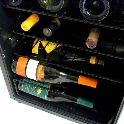 refrigerador de vino danby, 35 botellas