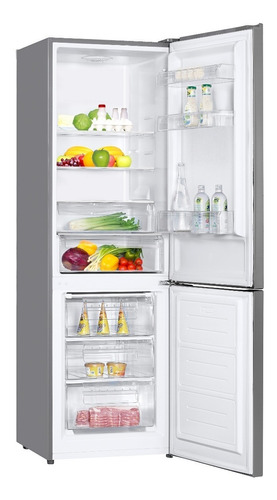 refrigerador electrolux 380 lt frost 2 puertas inox