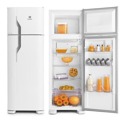 refrigerador electrolux  dc35a 2pt 260lt branco