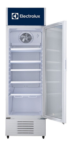 refrigerador electrolux vitrina erh34t3kqw  blanco 342l