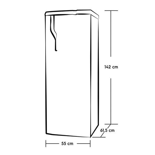 refrigerador frost 240 lts - 1p 2871644- marca electrolux -