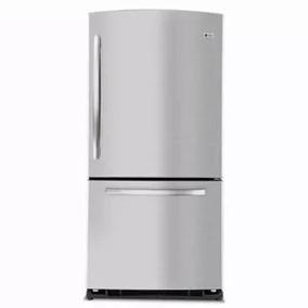 refrigerador con congelador abajo