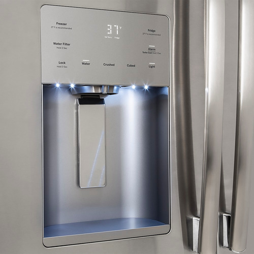 refrigerador ge modelo pfm25jskcss (25p³) nueva en caja
