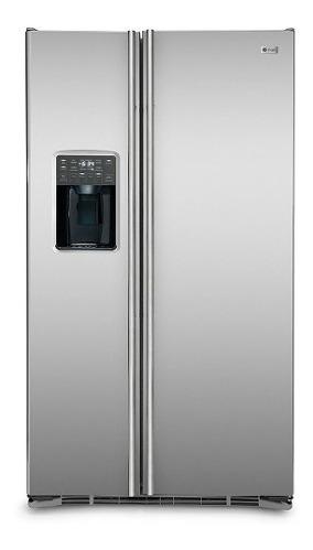 refrigerador  ge side by side 717 l acero inox pscs5pggfss