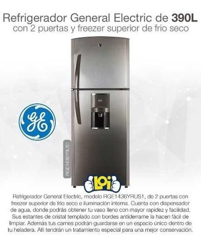 refrigerador heladera ge 1436 390l freezer frío seco en loi