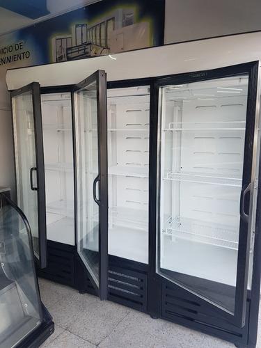 refrigerador hussman comercial 3 ptas.