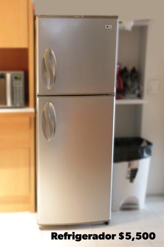 refrigerador lg gris