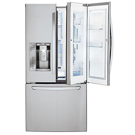 refrigerador lg modelo gm63sds (25p³) nueva en caja