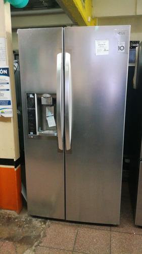 refrigerador lg modelo gs74sgs (26p³) nueva en caja