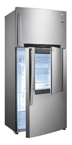 refrigerador lg platinum silver gt44mdp (16pie³) nueva caja