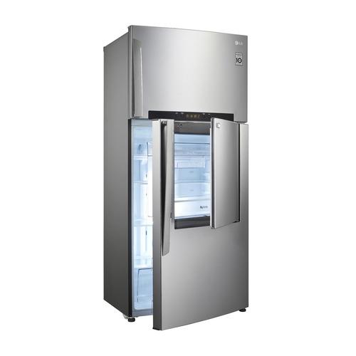 refrigerador lg platinum silver gt44mdp (17pie³) nueva caja