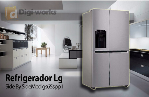 refrigerador lg side by side mod.gs65spp1 incluido iva
