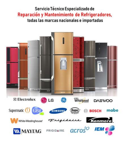 refrigerador (mantenimiento correctivo reparación)