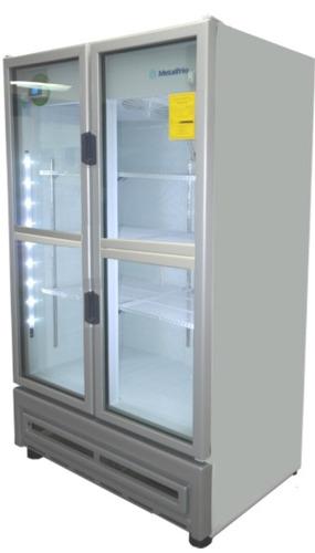 refrigerador metalfrio 42ft3 4 puerta 804 botellasde 1/2 lto