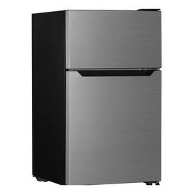 Refrigerador Minibar Hisense Rt33d6aae Silver 93.4l 110v