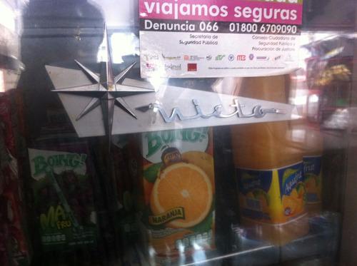 refrigerador nieto vitrina