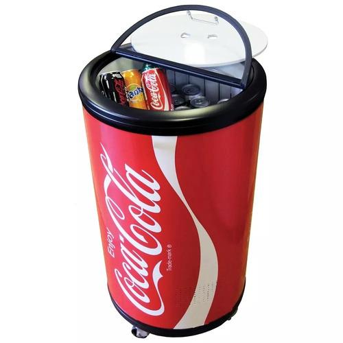 refrigerador para fiestas coca-cola-capacidad 50l, ccpc-50