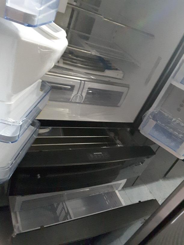 Refrigerador Samsung Rf28jbedbsg Negro