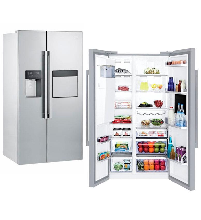 Refrigerador Side By Side Beko Gn 162420 X. Cargando Zoom.