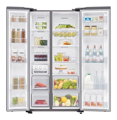 refrigerador side by side con space max 647 l samsung