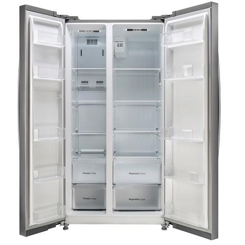 refrigerador side by side daewoo frs k6500bxa 527 lt