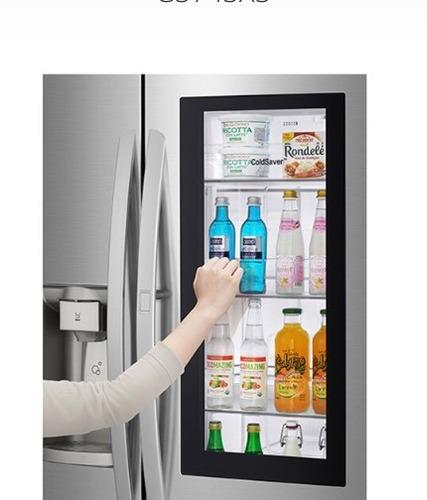 refrigerador side by side lg door-in-door 788lt