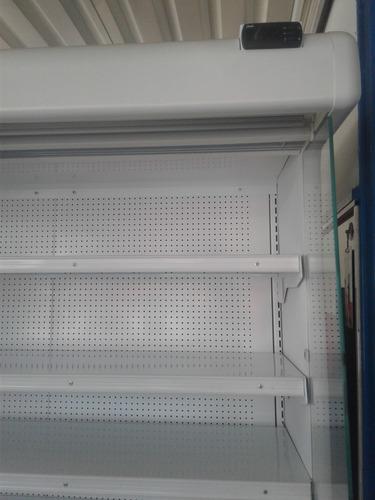 refrigerador tramo abierto hussmann