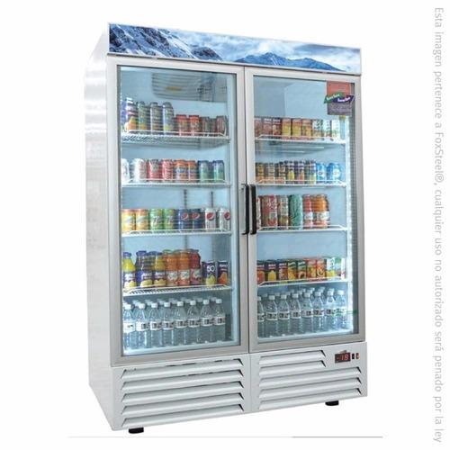refrigerador vertical 2 puertas 49 pies armd-49 asber