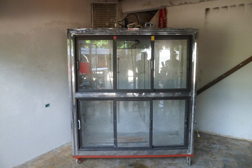 refrigerador vitrina