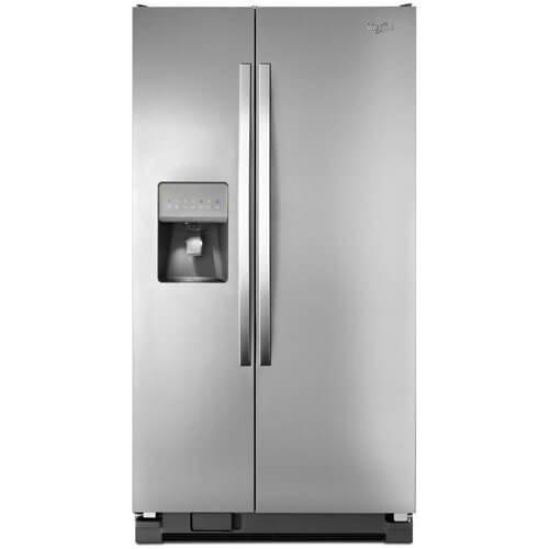 refrigerador whirlpool®  wrs325fdam (26p³) nueva en encaja