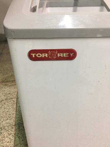 refrigerador y congelador de helados torrey