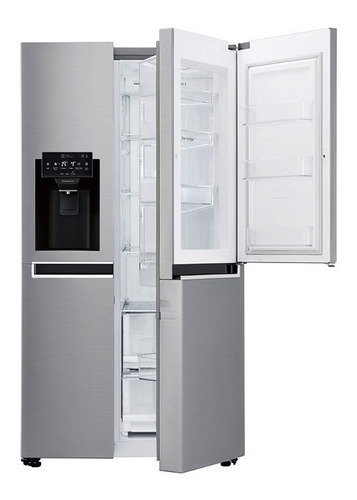 refrigeradora lg gs65sdp1 side by side 601lt/20pies