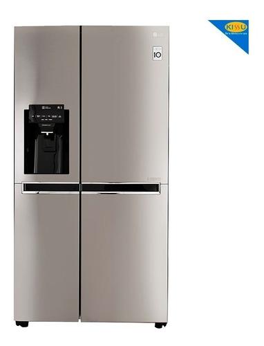 refrigeradora lg gs65spp1 side by side 601lt/20pies ice make