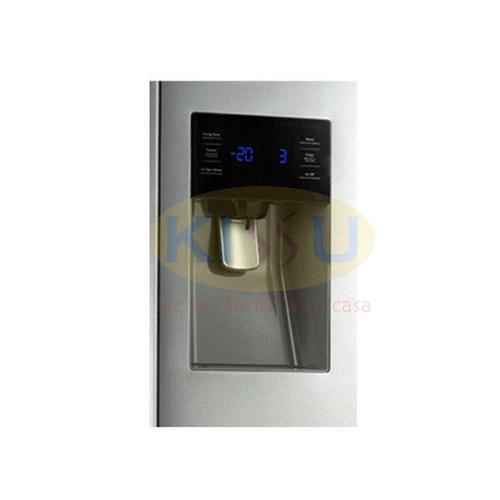 refrigeradora samsung side by side rf263beaesl croma 3 puert
