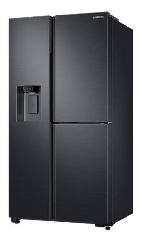refrigeradora side by side con flexzone 602 l samsung