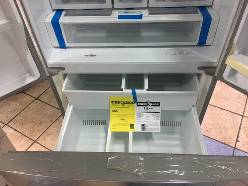 refrigeradora side by side whirpool 3 puertas a solo 3450 s