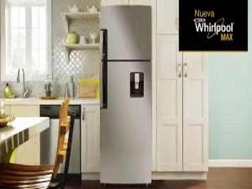 refrigeradora whirlpool 305lts..  nuevo  con dispensador