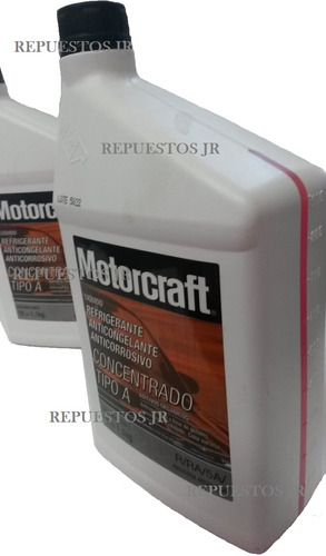 refrigerante ford motorcraft original repuestos jr