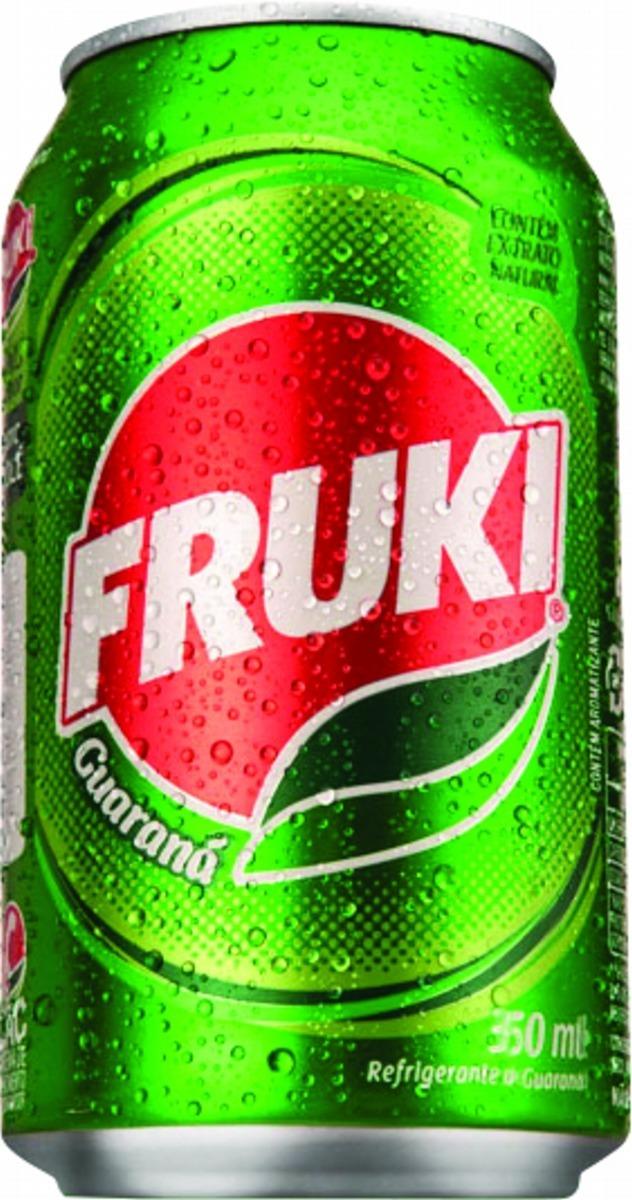 Refrigerante Fruki Lata 350ml Guaraná 1x06 Unidades - R$ 24,90 em ...