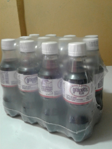 refrigerante grapette normal ou zero 290ml pack com 12 unid