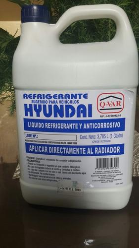 refrigerante hyundai original