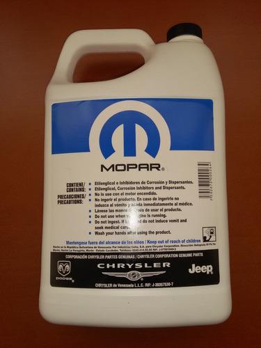 refrigerante morado mopar grand cherokee 2011 - 2017