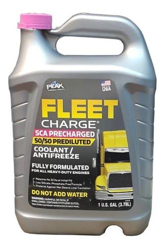 refrigerante para camiones peak 50/50 pre mezclado 3.78lt