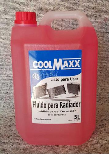 refrigerante y agua destilada desmineralizada x 5 l coolmaxx