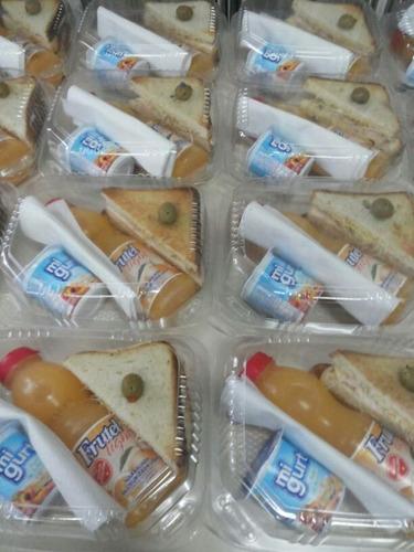 refrigerios almuerzos desayunos servicio de catering