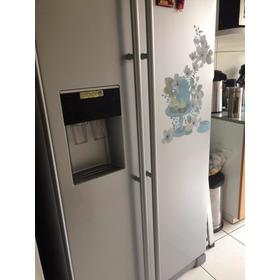 Refrigueradora Sansung 2 Puertas Plateado