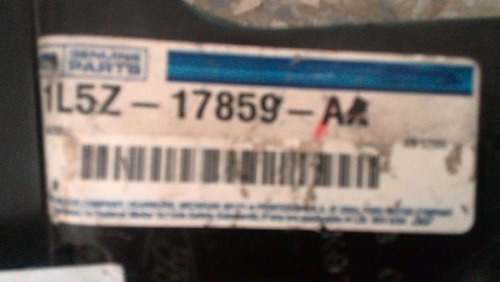 refuerzo derecho parachoque delantero ranger 4x2 2001-2004